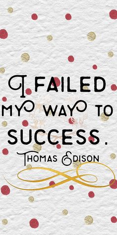 """I failed my way to success."" Thomas Edison   85/365"