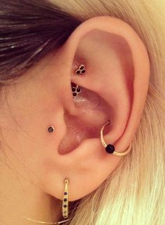 Tragus and conch jewelry