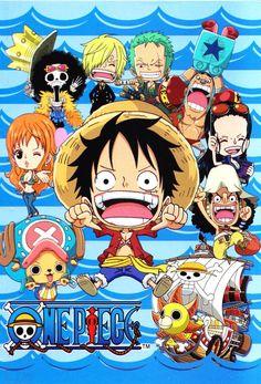 One Piece chibi Mugiwara Pirates One Piece Film, One Piece Series, One Piece World, One Piece Pictures, One Piece Images, One Piece Wallpaper Iphone, Cartoon Wallpaper, Monkey D Luffy, Luffy X Nami