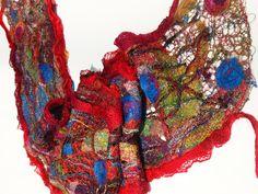 scarf by Michelle Mischkulnig Textile Artist, Chelle Textiles
