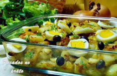 Pescada gomes de sá Portuguese Recipes, Potato Salad, Macaroni And Cheese, Cooking Recipes, Dishes, Ethnic Recipes, Food, Anita, Azores