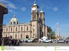 Roman Catholic Cathedral of Our Lady of Guadalupe in Tijuana, Mexico, Baja California