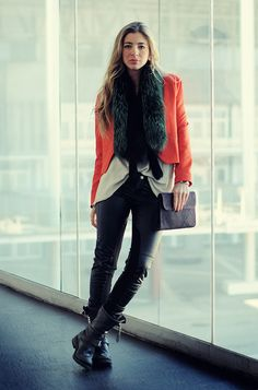 Me gusta más la actitud que la ropa…