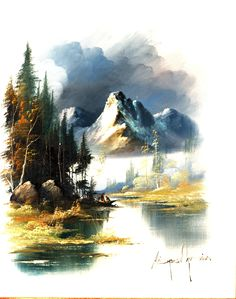 Digital image of an original 16 X 20 oil painting.