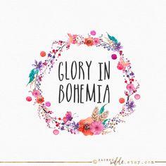 Image result for floral wreath logo design