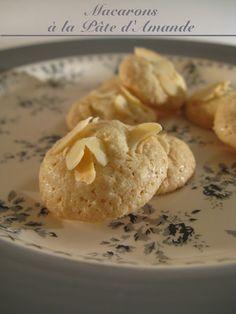 Macarons à la Pâte d'Amande