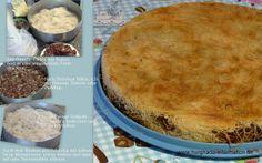Ägyptische Rezepte: Gebäck, Gunafa, Kunafa, mit Datteln