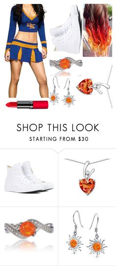"""Untitled #2325"" by amesqueda ❤ liked on Polyvore featuring Converse, Bling Jewelry and Rimmel"