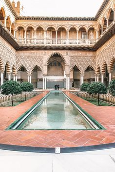 11 Best Things To Do In Seville, Spain Perched within the Andalusia region, Seville is one of the country's most gorgeous places to visit. And, of course, being the capital of the region there are so many of the best things to do Places To Travel, Places To See, Travel Destinations, Travel Tips, Holiday Destinations, Travel Guides, Travel Photos, Alcazar Seville, Belle Villa