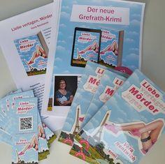 Das Infopaket für meine morgige Buchhandelstour liegt bereit. #buchhandel #buchhandlung #buch #selfpub #marketing #bestseller