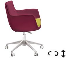 Aceray Swivel chair. Your own fabric choices. Available through CJ Welch North, San Francisco Design Center, 415 864 1700 www.cjwelchnorth.com