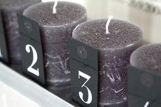 Muotoseikka\ Adventtikynttilät / Advent candles