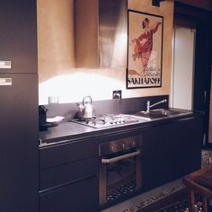 Airbnb in Genoa - the stylish, contemporary kitchen. See the rest on the Feioi blog!
