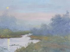 """""""Hinterland Haze"""" by Rod Moore. Paintings for Sale. Bluethumb - Online Art Gallery"""
