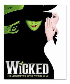 zulily-exclusive offer to see three-time Tony Award-winning musical Wicked on Broadway! Get orchestra seats for select dates through March 12. Buy two or more tickets and you will also receive a $25 credit for a delectable dinner at STK New York City – Midtown.WICKED, the Broadway sensation, looks at what happened in the Land of Oz…but from a different angle. Long before Dorothy arrives, there is another girl, born with emerald-green skin—smart, fiery, misunderstood, and possessing an…