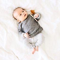 8402db64e Organic Knot Hat + Gown Set ☆ SIGNATURE PRINTS - Preemie-Newborn ...