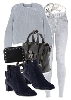 """""""Untitled #2318"""" by mandyz75 ❤ liked on Polyvore featuring Vanessa Mooney, Maison Margiela, 3.1 Phillip Lim, Roger Vivier, Valentino and Vita Fede"""