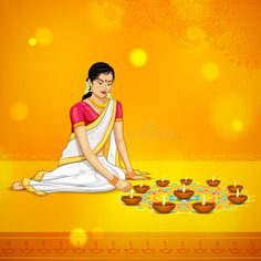 Illustration about Illustration of woman burning diya for Indian festival Diwali. Illustration of design, deepavali, culture - 45130381 Diwali Painting, Diwali Drawing, Diya Rangoli, Flower Rangoli, Indian Women Painting, Indian Paintings, Diwali Vector, Happy Diwali Wallpapers, Diwali Greetings