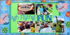 Disney Scrapbook High Flying Fun Dumbo