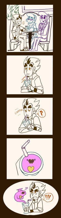 Chocolate milkshake thief by Bluetita on DeviantArt Mystery Skulls Comic, Hyanna Natsu, Ghost Videos, Up Animation, Lucas Arts, Chocolate Milkshake, Anime Cat, Cartoon Movies, Undertale Au