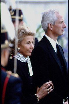 Princess Marie-Aglae and Prince Hans-Adam II of Liechtenstein