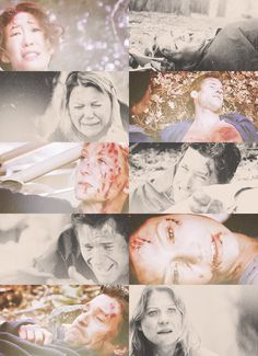 """Grey's Anatomy 'Flight' """"You can't die, ok? You can't die. Because we're supposed to end up together. We're meant to be."""""""