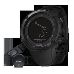Father's Day Gift Ideas - New Authentic Suunto Ambit2 Black Hr featuring Heart Rate Monitor