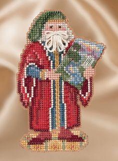 Mill Hill Renaissance Santas  Florence Santa by DebiCreations