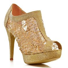 Womens Ladies Sparkly High Heel Ankle Boots Sequin Mesh Lace Peep Toe Shoe Boot[Gold,UK 8 / EU 41 / US 10 / AUS 9] FantasyShoes http://www.amazon.com/dp/B00NROMEWI/ref=cm_sw_r_pi_dp_i-bjub0ZEYFMH