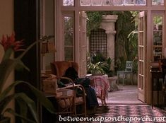 Between Naps on the Porch | Tour the Apartment and Greenhouse in the Movie, Green Card | http://betweennapsontheporch.net