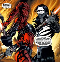 Darth Nihl and Darth Talon
