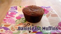 Daniel Fast Muffins