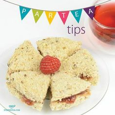 ParTEA Tip Tuesday: Try our Strawberry Rhubarb Jam or our Spicy Apple Peach Jam at your next get together! What tea would you pair with this? Head over to our Facebook page and comment!