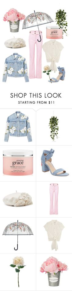 """""""April showers"""" by goddess0215 ❤ liked on Polyvore featuring Rebecca Taylor, Nearly Natural, philosophy, Alex + Alex, Betmar, Chloé and Vera Bradley"""