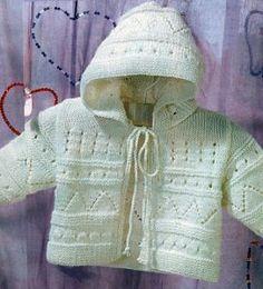 knitting baby jacket | make handmade, crochet, craft