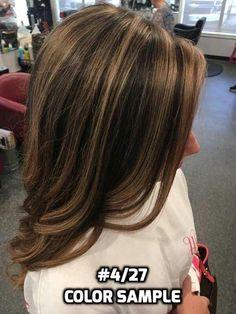 Mechas y rayos en el cabello con la técnica estrella  3ae8ee4354f