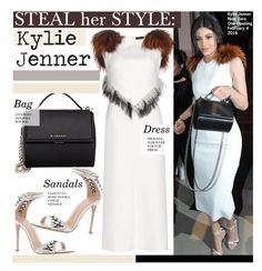 """Steal Her Style-Kylie Jenner"" by kusja ❤ liked on Polyvore featuring Proenza Schouler, Givenchy, women's clothing, women, female, woman, misses, juniors, Stealherstyle and celebstyle"