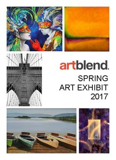 SPRING EXHIBITION 2017 Opening Reception- Meet The Artists You and your guests are cordially invited to join us on Sunday, May 21, 2017 from 2pm- 5pm  Meet the Artists http://www.artblend.com/artists/  Complimentary Serving: White Wine Hors d'oeuvres Cheese & Fruit Platter Soft Contemporary Jazz Music Casual Cocktail Attire Required Free and Open to the Public Plenty of Parking Should you have any questions please email Elaine Joseph at elaine@artblend.com