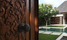 Book Nyaman Villas, Bali - Travel In Style With The Luxe Nomad Resort Villa, Bali Travel, Villas, Travel Style, Door Handles, Paradise, Hotels, Bedroom, Book