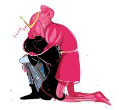 marceline and princess bubblegum Adventure Time Marceline, Adventure Time Anime, Yuri, Marceline And Princess Bubblegum, Demon Days, Bubbline, She Ra Princess Of Power, Cute Memes, Bubble Gum