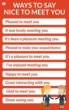 Etiquette How to greet and say nice to meet you. English Sentences, English Vocabulary Words, Learn English Words, English Phrases, English Idioms, English Study, English Lessons, English English, English Learning Spoken
