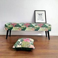 Lovare ławka motyw liściasty 120 cm Vanity Bench, Furniture, Home Decor, Decoration Home, Room Decor, Home Furnishings, Home Interior Design, Dresser To Vanity, Home Decoration