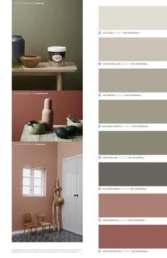 Se de nye vakre LADY fargene og de tre fargetemaene i det nye fargekartet
