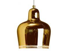 Artek A330S Pendant Lamp-Brass