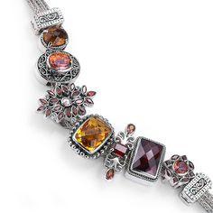 Bonn Bons by Lori Bonn.....  Love it! MY KIND of chunky charm bracelet. I like the ocean color ones.