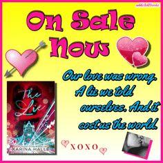 New Book Alert!  McGregor Boys Are Back!  #TheLie  #KarinaHalle  #NewBook #Romance #newromance   Link to tweet: https://twitter.com/Sarahs_eyebrows/status/700046759368613888