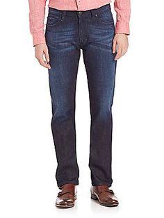 Armani Collezioni Classic-Fit Jeans - Denim - Size 3