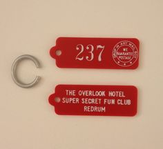 The Shining Hotel Key Tag