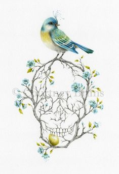 One of my favourite artists, Courtney Brims I would love this to be one of my next tattoos