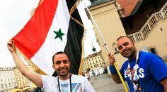 Los hermanos Astfan de Siria. Foto: Kate Veik (ACI Prensa)